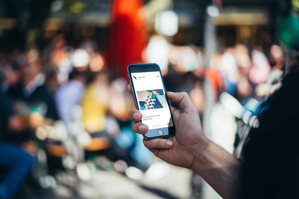 Homepage für Agentur mit mobiler Optimierung