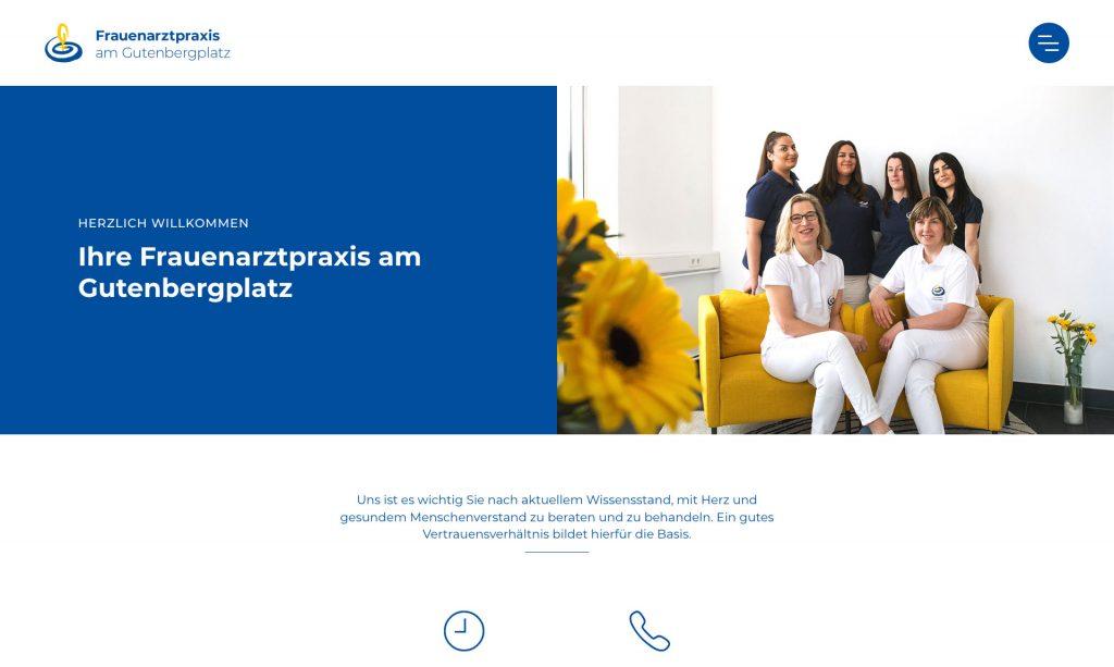Startseite Frauenarztpraxis am Gutenbergplatz